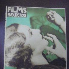 Cine: REVISTA CINE. FILMS SELECTOS. 30 ABRIL 1932. AÑO III. Nº 81.. Lote 91347965