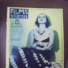 Cinema: REVISTA CINE. FILMS SELECTOS. 26 MARZO 1932. AÑO III. Nº 76.. Lote 91348535