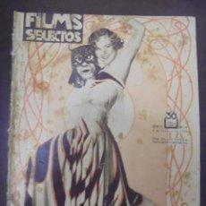 Cine: REVISTA CINE. FILMS SELECTOS. 6 FEBRERO 1932. AÑO III. Nº 69.. Lote 91349130