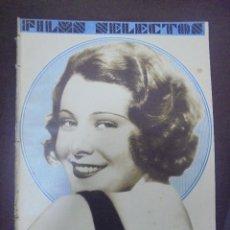 Cinema: REVISTA CINE. FILMS SELECTOS. 3 OCTUBRE 1931. AÑO II. Nº 51.. Lote 91349485