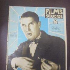 Cine: REVISTA CINE. FILMS SELECTOS. 12 SEPTIEMBRE 1931. AÑO II. Nº 48.. Lote 91349595