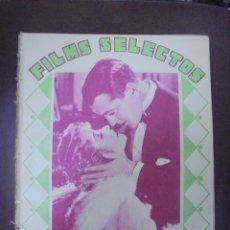 Cine: REVISTA CINE. FILMS SELECTOS. 24 ENERO 1931. AÑO II. Nº 15.. Lote 91350030