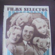 Cine: REVISTA CINE. FILMS SELECTOS. 10 ENERO 1931. AÑO II. Nº 13.. Lote 91350175