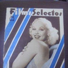 Cine: REVISTA CINE. FILMS SELECTOS. 15 DICIEMBRE 1934. AÑO V. Nº 217.. Lote 91350420