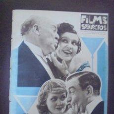 Cinema: REVISTA CINE. FILMS SELECTOS. 24 NOVIEMBRE 1934. AÑO V. Nº 214.. Lote 91350735