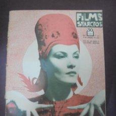 Cine: REVISTA CINE. FILMS SELECTOS. 10 NOVIEMBRE 1934. AÑO V. Nº 212.. Lote 91350845
