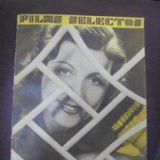 Cine: REVISTA CINE. FILMS SELECTOS. 27 OCTUBRE 1934. AÑO V. Nº 210.. Lote 91351000