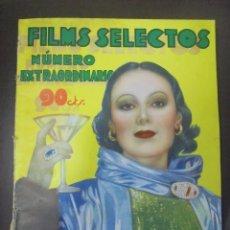 Cinema: REVISTA CINE. FILMS SELECTOS. OCTUBRE 1934. NUMERO EXTRAORDINARIO. Lote 91351135