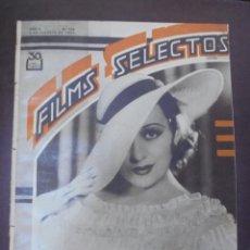Cine: REVISTA CINE. FILMS SELECTOS. 6 OCTUBRE 1934. AÑO V. Nº 208.. Lote 91351195