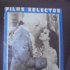 Cine: REVISTA CINE. FILMS SELECTOS. 8 SEPTIEMBRE 1934. AÑO V. Nº 204.. Lote 91351665