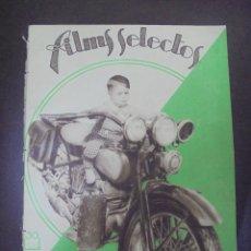 Cinema: REVISTA CINE. FILMS SELECTOS. 10 SEPTIEMBRE 1932. AÑO III. Nº 100.. Lote 91351730