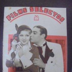 Cine: REVISTA CINE. FILMS SELECTOS. 20 AGOSTO 1932. AÑO III. Nº 97.. Lote 91352380