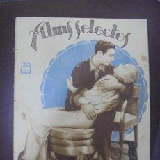Cine: REVISTA CINE. FILMS SELECTOS. 13 AGOSTO 1932. AÑO III. Nº 96.. Lote 91352660