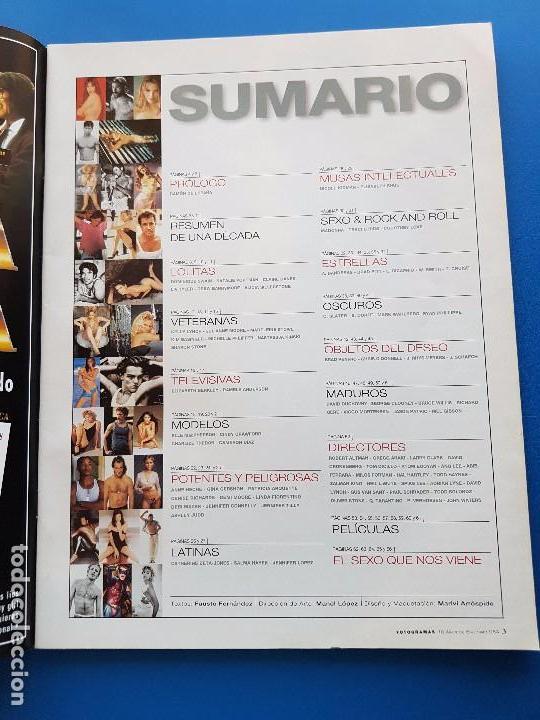 Cine: 10 AÑOS DE EROTISMO USA-DREW BARRYMORE+SHARON STONE+PAMELA ANDERSON+MADONNA -SUPL. FOTOGRAMAS Nº1864 - Foto 2 - 91553860