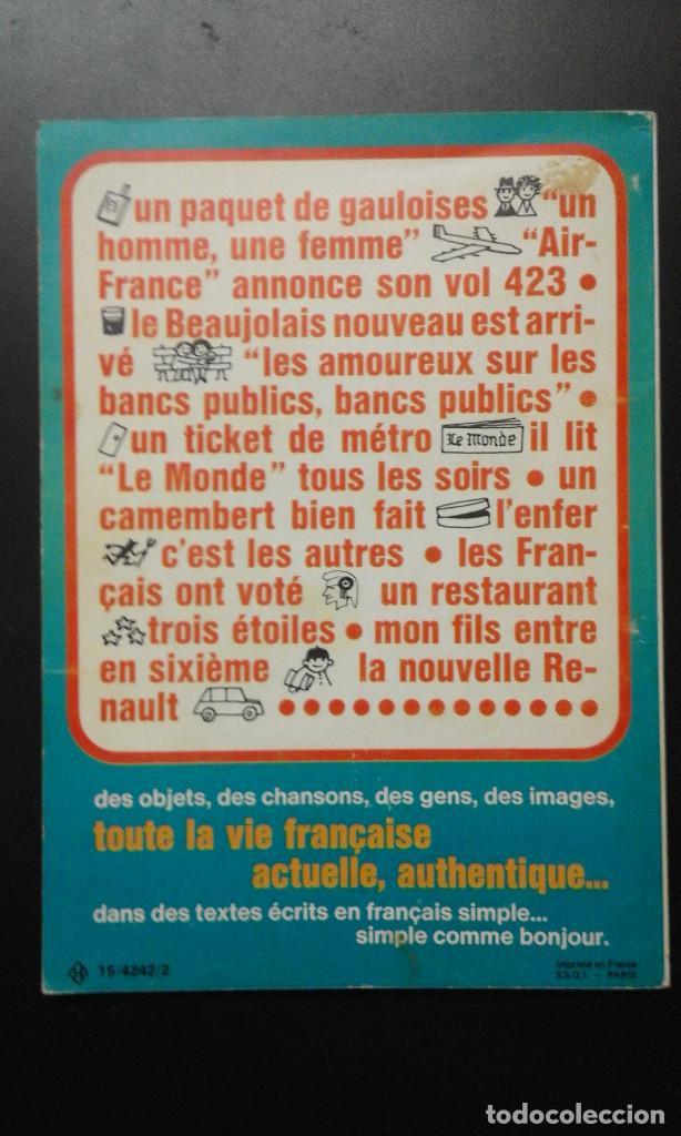 Cine: LIBRO DE ** LE CINEMA FRANÇAIIS *AUJOURD´HUI ** HACHETTE 1974 - Foto 3 - 91587535