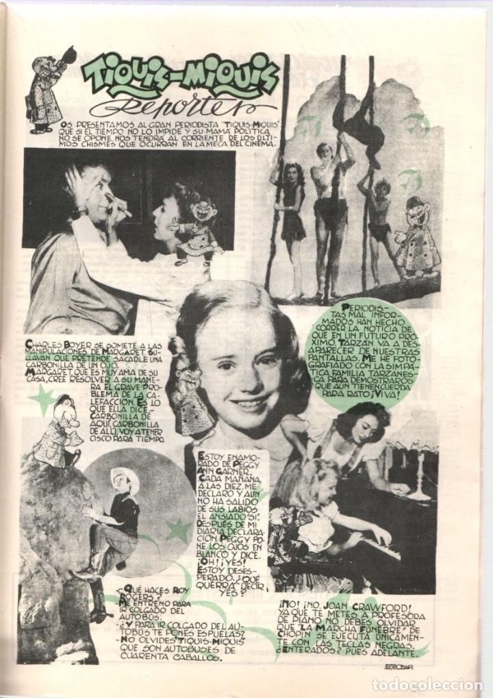 Cine: ALMANAQUE JUNIOR FILMS AÑO 1947. 12 DE DICIEMBRE DE 1946. Nº 17. BAGUÑA HNOS. - Foto 4 - 92003015