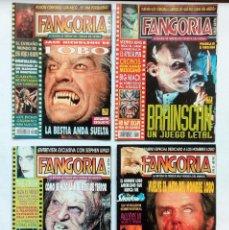 Cine: FANGORIA. REVISTA DE TERROR LOTE DE 4 NÚMEROS: 32-33-34-35 (1994) PERFECTO ESTADO. VER FOTOGRAFÍAS. Lote 92081300