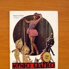 Cine: CONCHITA PIQUER ESTRELLA DE VARIEDADES - REVISTA MUNDO GRÁFICO 1-9-1926. Lote 92093615