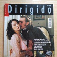 Cine: DIRIGIDO POR...Nº 377 ABRIL 2008 SIDNEY LUMET (2) JACQUES RIVETTE Y LA DUQESA DE LANGEAIS. Lote 92262125