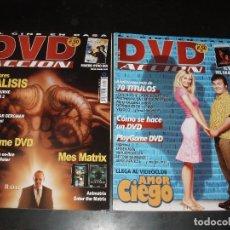 Cine: REVISTA DE CINE DVD ACCION,Nº 15 Y 26. Lote 92263505