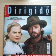 Cine: DIRIGIDO POR...Nº 384 DICIEMBRE 2008 CLINT EASTWOOD - AUSTRALIA UN KOLOSSAL NOSTÁLGICO. Lote 112699631