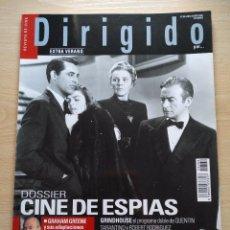 Cine: DIRIGIDO POR...Nº 369 JULIO-AGOSTO 2007 DOSSIER CINE DE ESPIAS EXTRA VERANO GRINDHOUSE. Lote 92279660