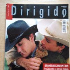 Cine: DIRIGIDO POR...Nº 352 ENERO 2006 BROKEBACK MOUNTAIN - FRANKLIN J. SCHAFFNER. Lote 92281890