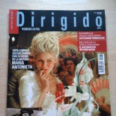 Cine: DIRIGIDO POR...Nº 357 JUNIO 2006 ESPECIAL COLECCIONISTAS AVENTURAS EN LA MAR 2ª PARTE MARIA ANTONIET. Lote 92283160
