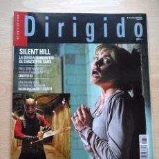 Cine: DIRIGIDO POR...Nº 358 JULIO-AGOSTO 2006 DOSSIEER: NUEVO CINE DE TERROR- SILENT HILL. Lote 92283520
