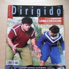 Cine: DIRIGIDO POR...Nº 332 MARZO 2004 EL NUEVO ALMODOVAR-LA MALA EDUCACION-BIG FISH. Lote 92289280