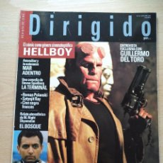 Cine: DIRIGIDO POR...Nº 337 SEPTIEMBRE 2004 M.NIGHT SHYANALAN - HELLBOY -GUILLERMO DEL TORO. Lote 92290425