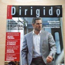 Cine: DIRIGIDO POR...Nº 338 OCTUBRE 2004 GUILLERMO DEL TORO-EL NUEVO THRILLER AMERICANO-COLLATERAL. Lote 92290695