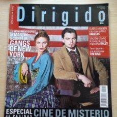 Cine: DIRIGIDO POR...Nº 319 ENERO 2003 ESPECIAL CINE DE MISTERIO - MARTIN SCORSESE. Lote 92435830