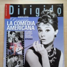 Cine: DIRIGIDO POR...Nº 322 ABRIL 2003 DOSSIER LA COMEDIA AMERICANA NUMERO EXTRA. Lote 92437845