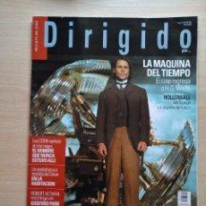 Cine: DIRIGIDO POR...Nº 310 MARZO 2002 LASSE HALLSTROM - LA MAQUINA DEL TIEMPO . Lote 92446085