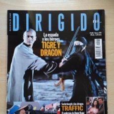 Cine: DIRIGIDO POR...Nº 298 FEBRERO 2001 TIGRE Y DRAGON - TRAFFIC ANG LEE. Lote 92468755