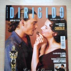 Cine: DIRIGIDO POR...Nº 299 MARZO 2001 CHOCOLAT - ESPECIAL OSCAR. Lote 92469150