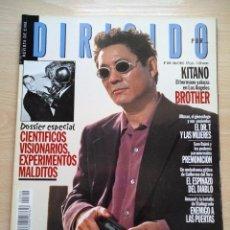 Cine: DIRIGIDO POR...Nº 300 ABRIL 2001 MONTXO ARMENDARIZ -CIENTIFICOS, VISIONARIOS.EXPERIMENTOS MALDITOS. Lote 92469585