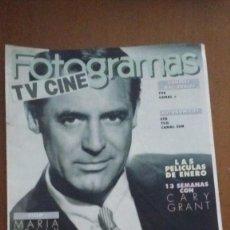 Cine: REVISTA FOTOGRAMAS TV CINE. CARY GRANT . Lote 92705240