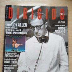 Cine: DIRIGIDO POR...Nº 286 ENERO 2000 WOODY ALLEN - DAVID LYNCH RAOUL WALSH. Lote 92736425