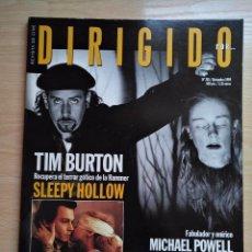 Cine: DIRIGIDO POR...Nº 285 DICIEMBRE 1999 TIM BURTON - EL SEXTO SENTIDO. Lote 92827040