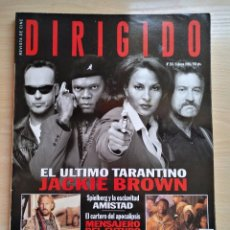 Cine: DIRIGIDO POR...Nº 265 FEBRERO 1998 EL ULTIMO TARANTINO - JACKIE BROWN. Lote 92828255