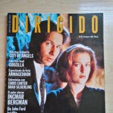 Cine: DIRIGIDO POR...Nº 270 JULIO-AGOSTO 1998 EXPEDIENTE X - CITY OF ANGELS . Lote 92829475