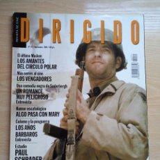 Cine: DIRIGIDO POR...Nº 271 SEPTIEMBRE 1998 SALVAR AL SOLDADO RYAN - PAUL ACHRADER. Lote 92829740