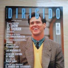 Cine: DIRIGIDO POR...Nº 272 OCTUBRE 1998 AKIRA KUROSAWA - EL SHOW DE TRUMAN. Lote 92829985