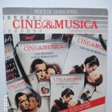 Cine: LOTE DE 26 FASCÍCULOS CINE&MÚSICA LAS OBRAS MAESTRAS DEL CINE. Lote 92857235