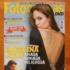 Cine: REVISTA FOTOGRAMAS - Nº 2002 - AÑO 63 - AGOSTO 2010 - ANGELINA JOLIE (X1). Lote 92901935