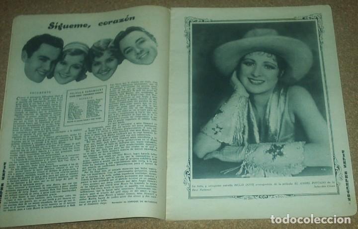 Cine: FILMS SELECTOS Nº 21 - 1931, MAUREEN O SULLIVAN -ORIGINAL EN BUEN ESTADO-IMPORTANTE LEER ENVIO - Foto 2 - 93014035