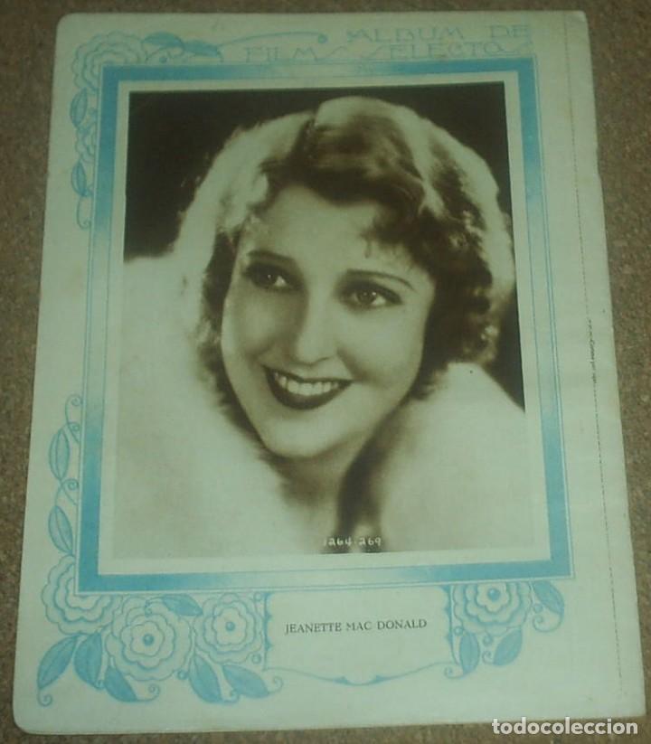 Cine: FILMS SELECTOS Nº 21 - 1931, MAUREEN O SULLIVAN -ORIGINAL EN BUEN ESTADO-IMPORTANTE LEER ENVIO - Foto 3 - 93014035