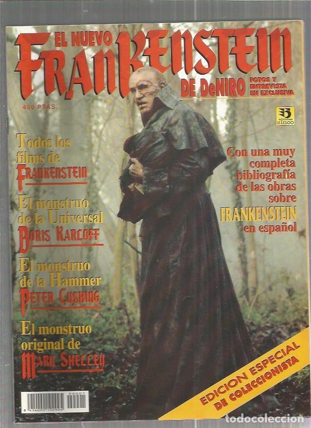 EL NUEVO FRANKENSTEIN DE DENIRO (Cine - Revistas - Otros)